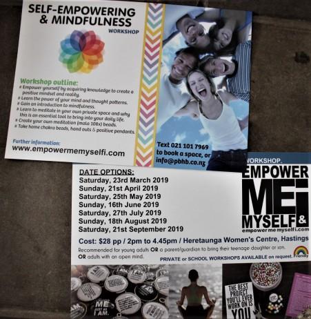Empowering workshop flyer