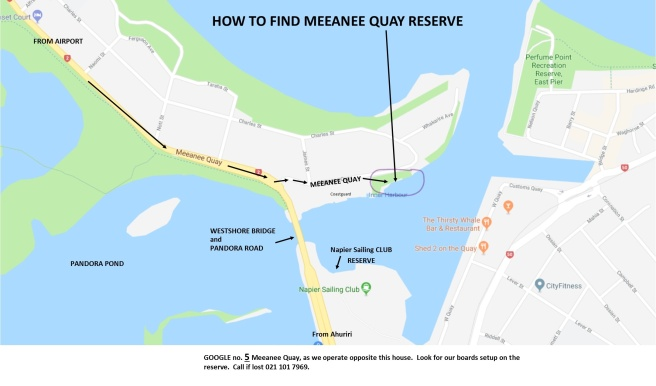 How to find MEEANEE QUAY RESERVE opposite 5 Meeanee Quay a_LI